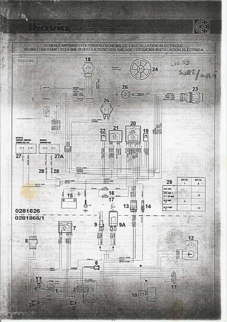 Diavia klima diagram schemat