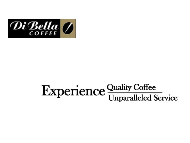 Quality CoffeeExperience   Unparalleled Service