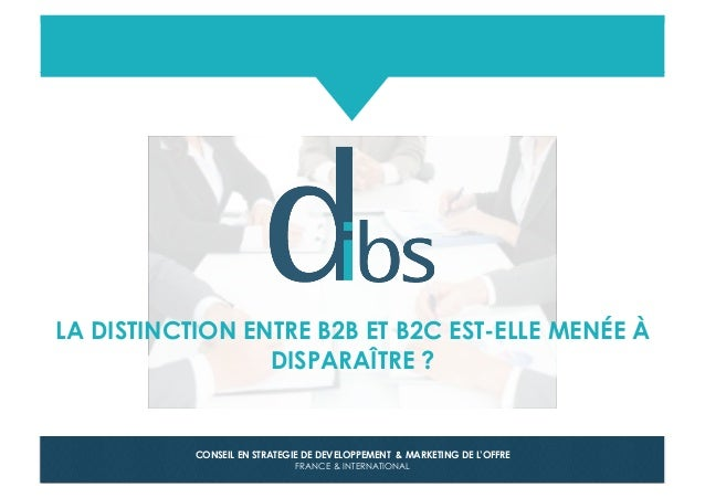 © Dibs I Confidentiel 1 CONSEIL EN STRATEGIE DE DEVELOPPEMENT & MARKETING DE L'OFFRE FRANCE & INTERNATIONAL LA DISTINCTION...