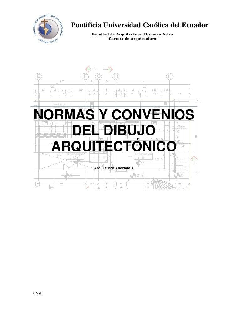 Dibujo arquitectonico for Normas para planos arquitectonicos