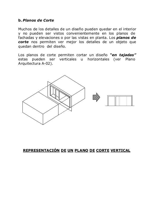 Dibujo arquitectonico - Altura de un piso ...