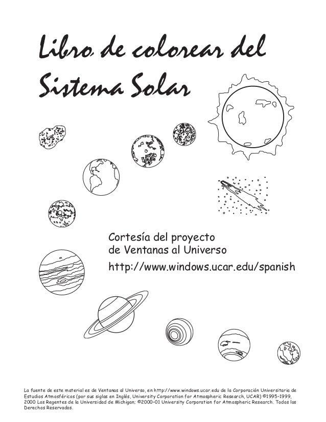 Dibujos sistema-solar