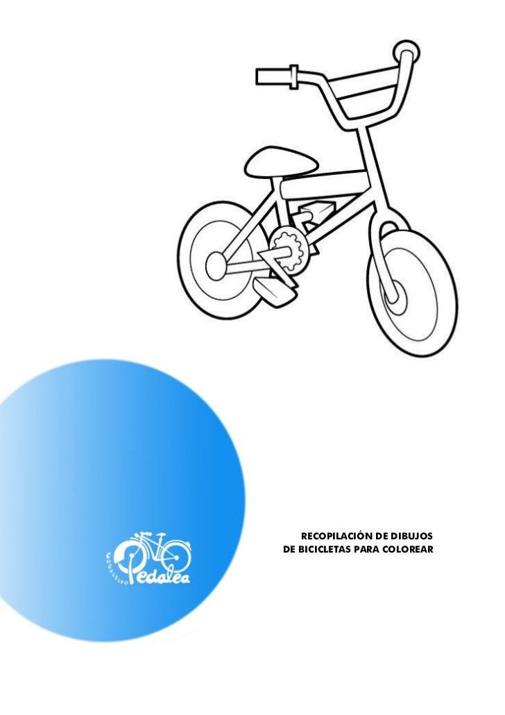 Dibus peques bicicleta- Pinta y pedalea