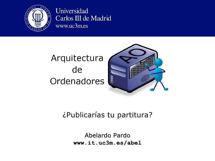 OCW Presentation in UC3M