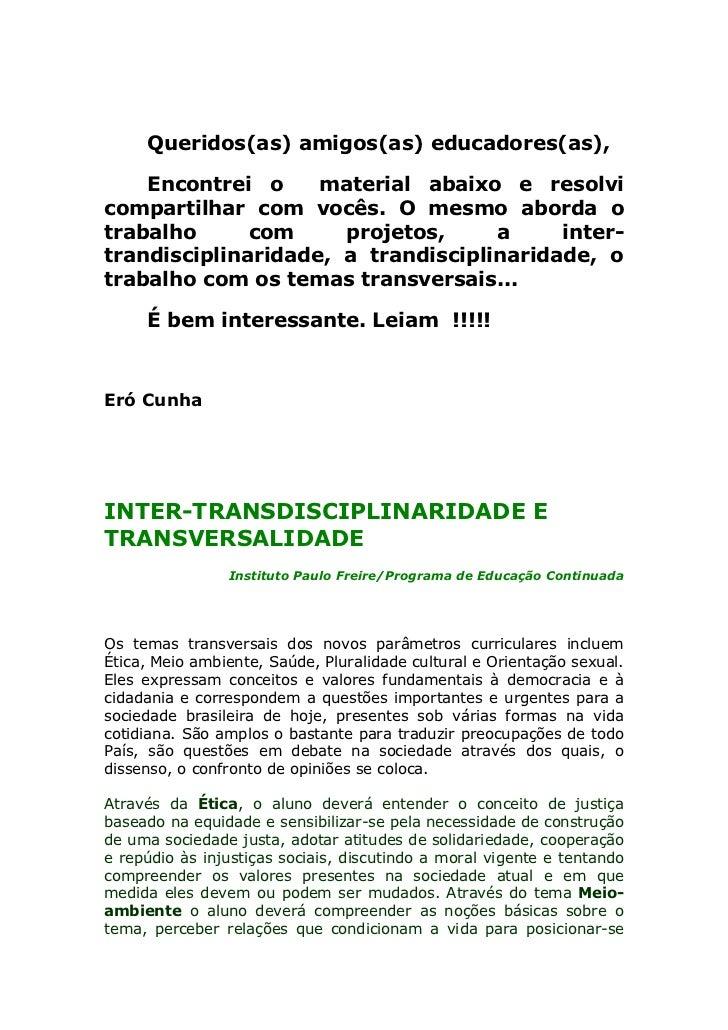 Dicas interdisciplinaridade[1]