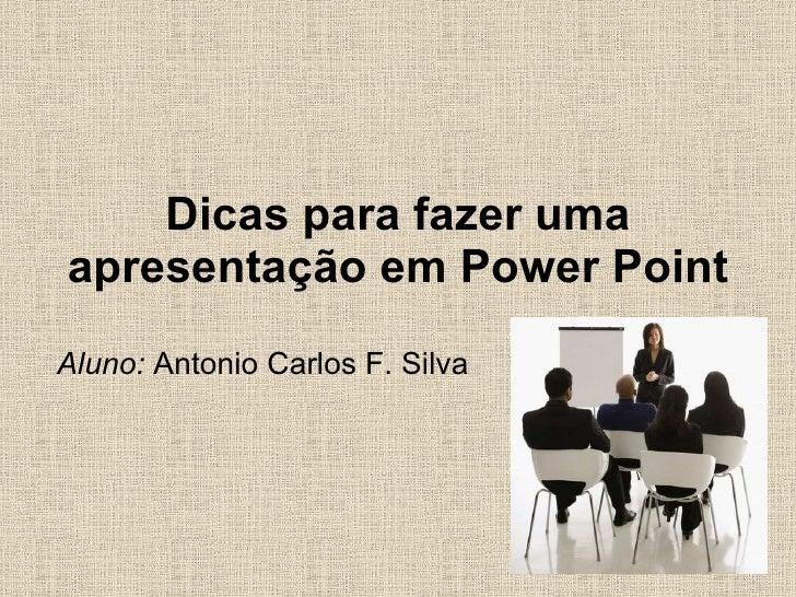 Como fazer apresentacao power point