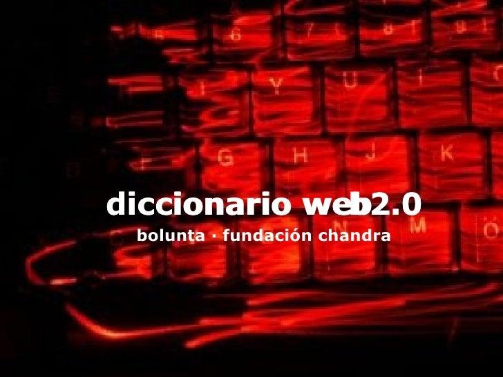 diccionario de la web2.0 para ong