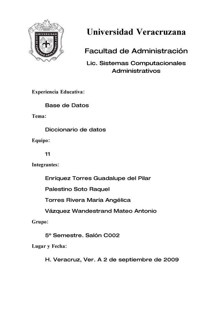 Universidad Veracruzana                       Facultad de Administración                          Lic. Sistemas Computacio...