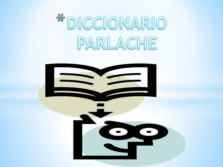Diccionario de parlache