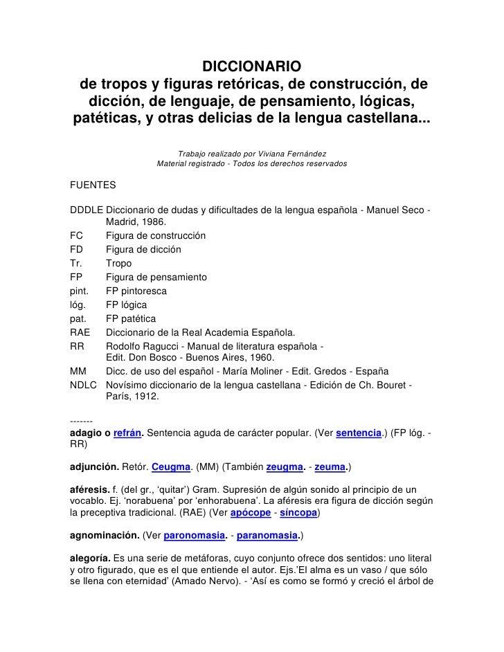 Diccionario de tropos