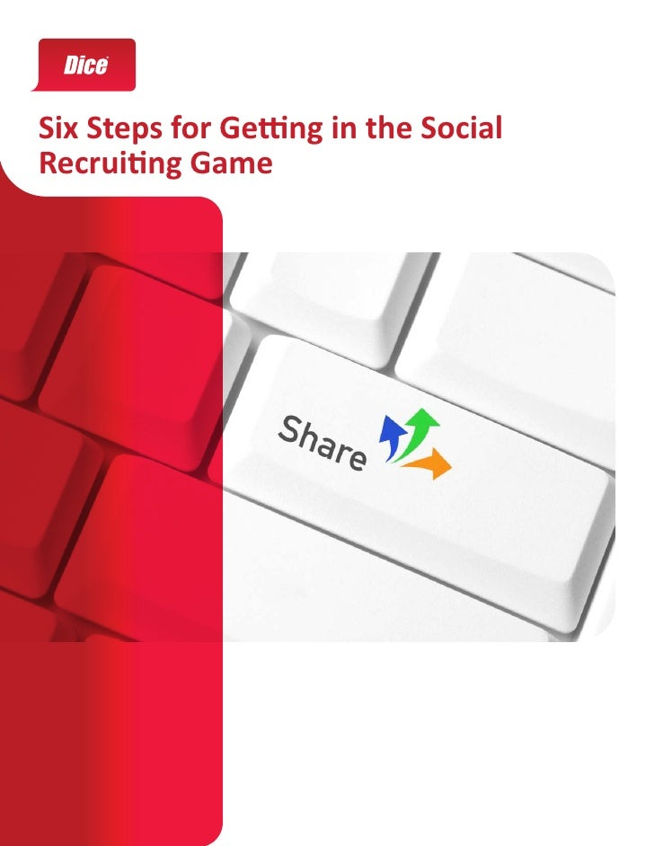 Six Steps for Getting in the Social Recruiting Game