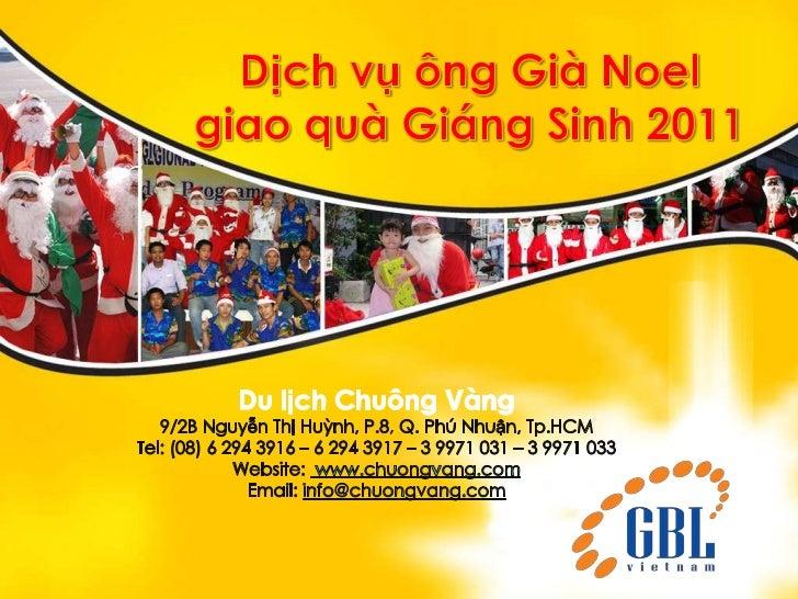 Dich vu ong gia noel giao qua Giang sinh du lich Chuong Vang www.chuongvang.com