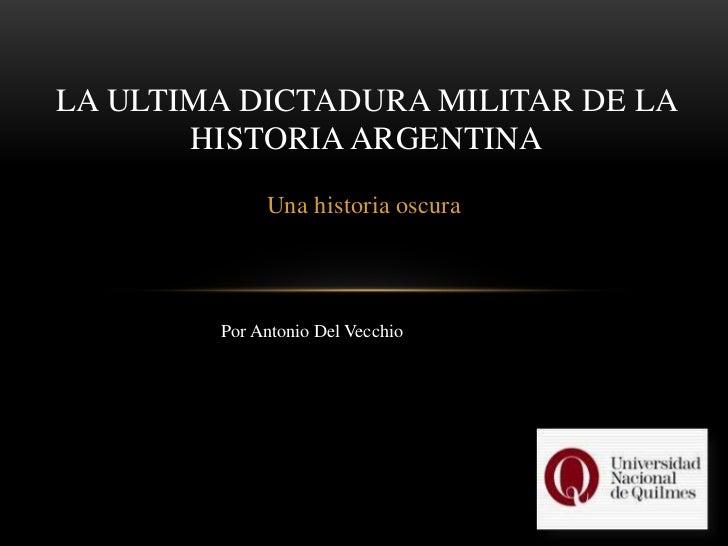 Dictadura militar argentina