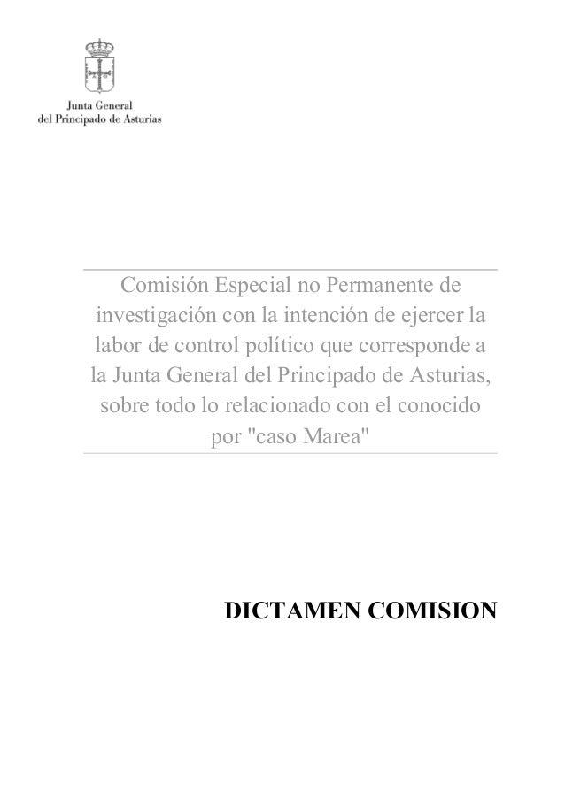 Comisión Especial no Permanente de investigación con la intención de ejercer la labor de control político que corresponde ...