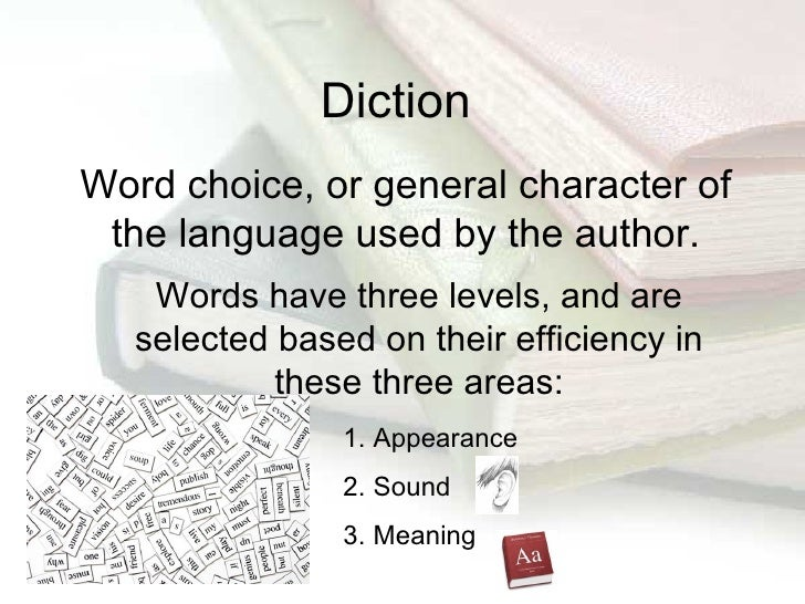 Diction Essay Examples