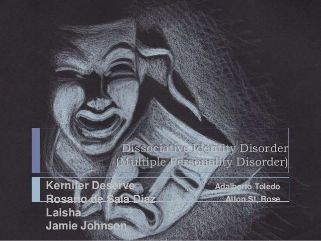 Multiple Personality Drawings Dissociative Identity Disorder