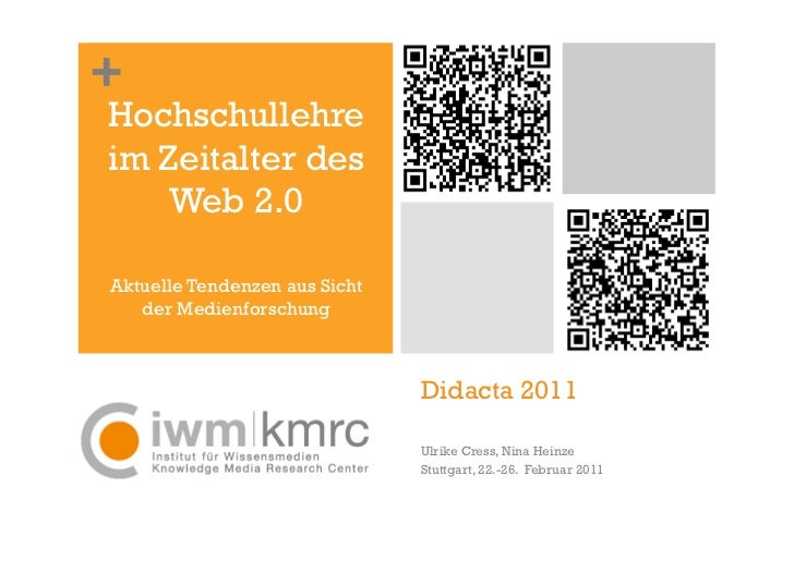 +Hochschullehreim Zeitalter des    Web 2.0Aktuelle Tendenzen aus Sicht   der Medienforschung                              ...