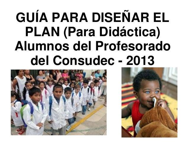 Didactica consudec inicial y primaria