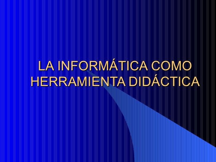 Didactica Informatica