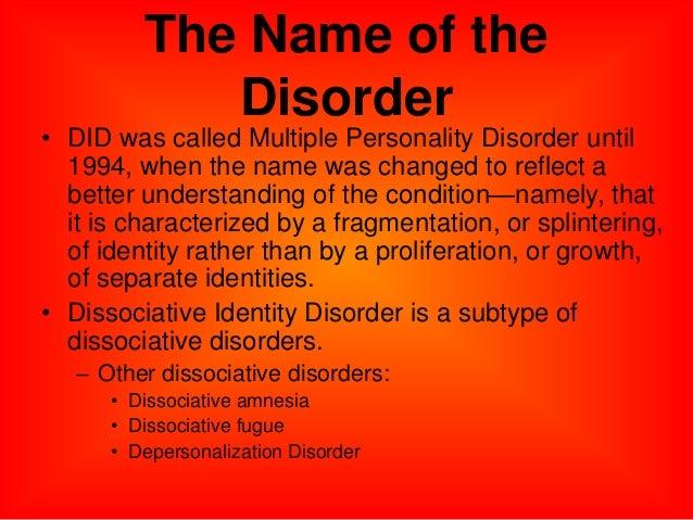 depersonalization disorder essay
