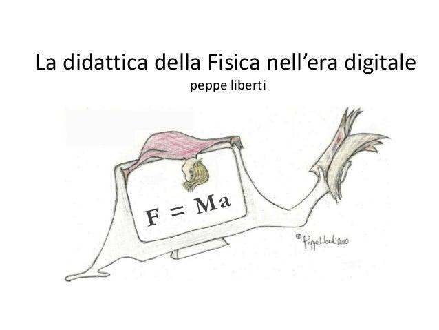 la didattica delle fisica nell'era digitale