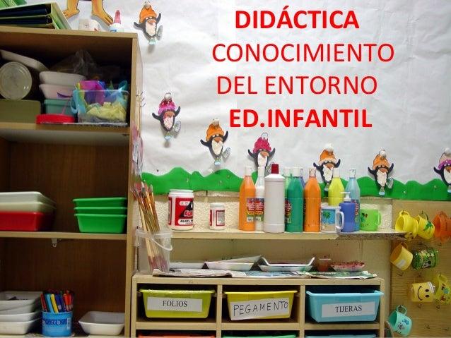 DIDÁCTICA     CONOCIMIENTO     DEL ENTORNO      ED.INFANTILINSERTAR FOTO