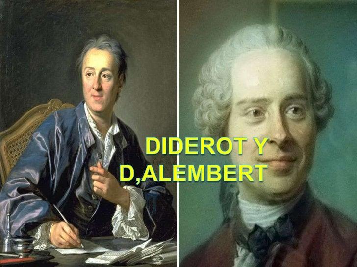 Diderot y d,alembert