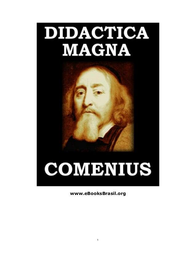 Didática magna comenius