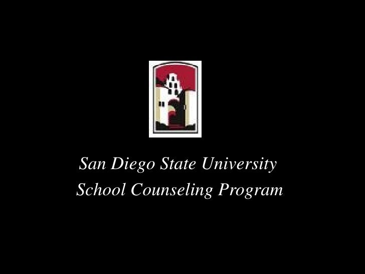 San Diego State University  School Counseling Program