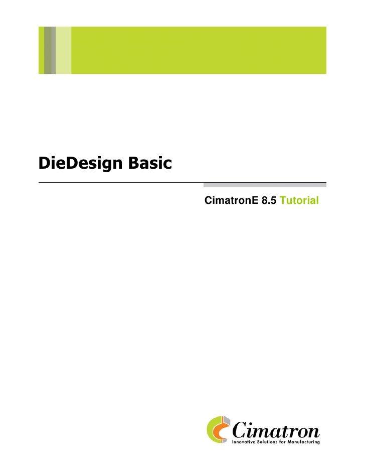 Die design basic