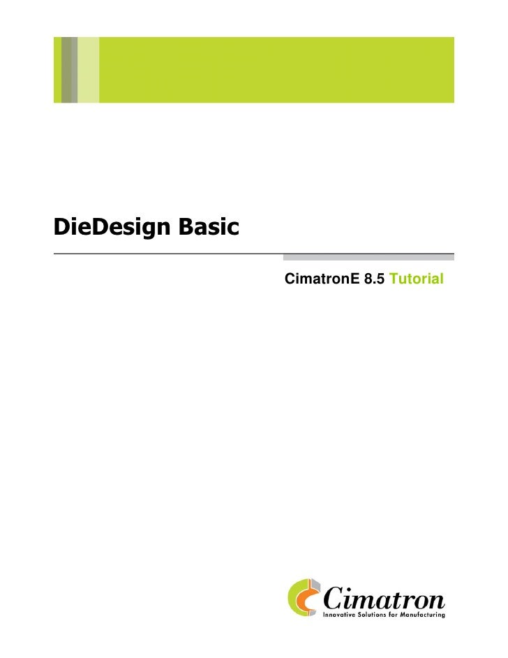 Die design basic