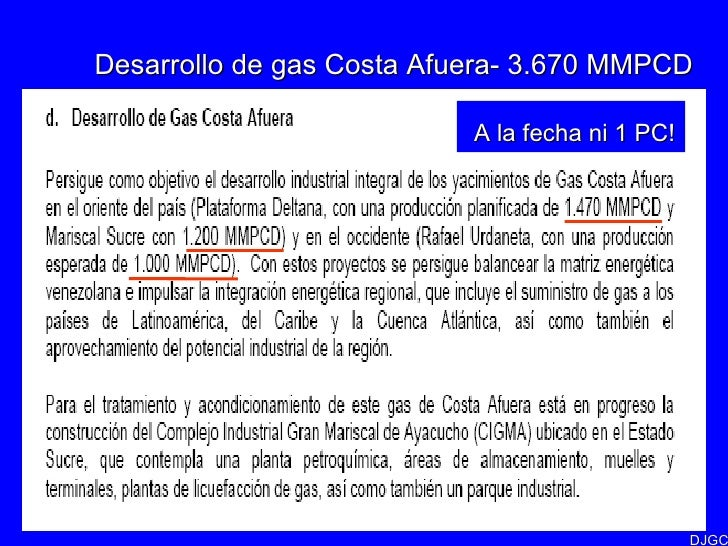 Corrupcion Costa Afuera de Gas Costa Afuera 3.670