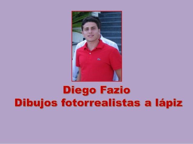 Diego fazio: dibujos a lápiz