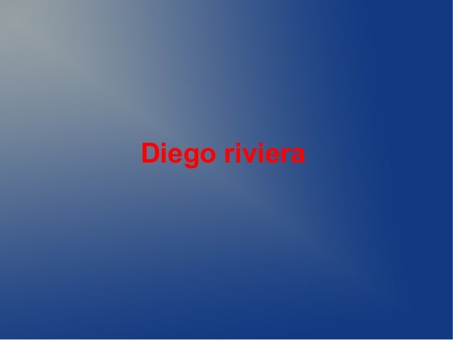Diego riviera