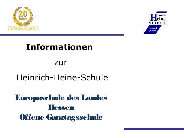 Heineeinrich                          ____________                          SCHULE                          EUROPA        ...
