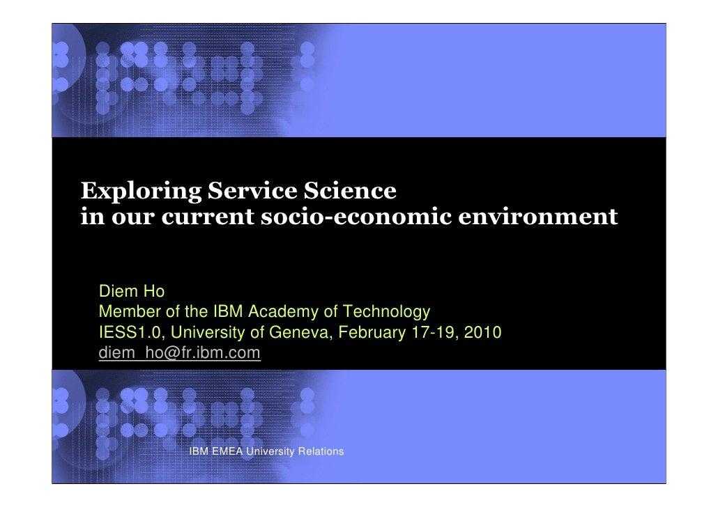 Diem Ho Exploring Services
