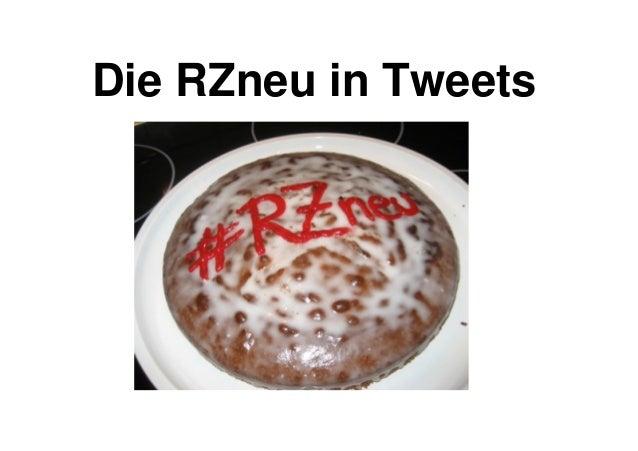Die RZneu in Tweets