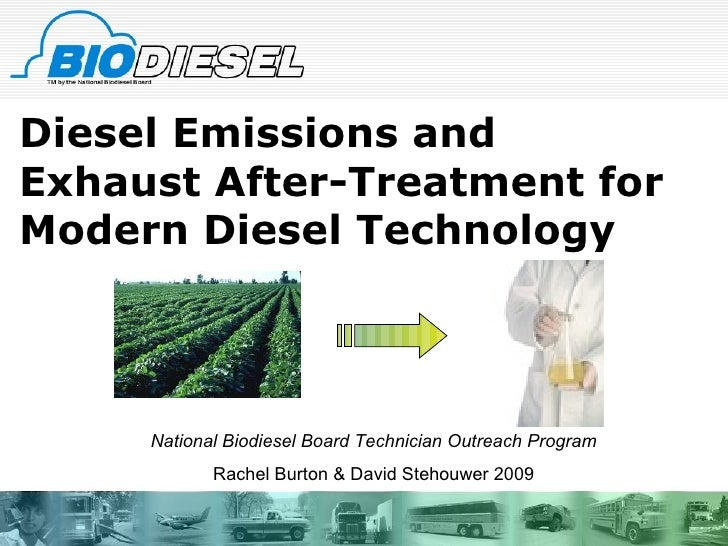 Diesel emissions and exhaust after treatment