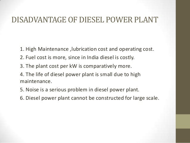 diesel power plant thesis What is the social impact of a power plant  thesis megaprojects and community  you did not mentioned what kind of power plant you are talking about.