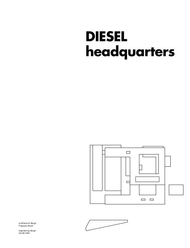 Diesel headquarters, estratto rivista Area