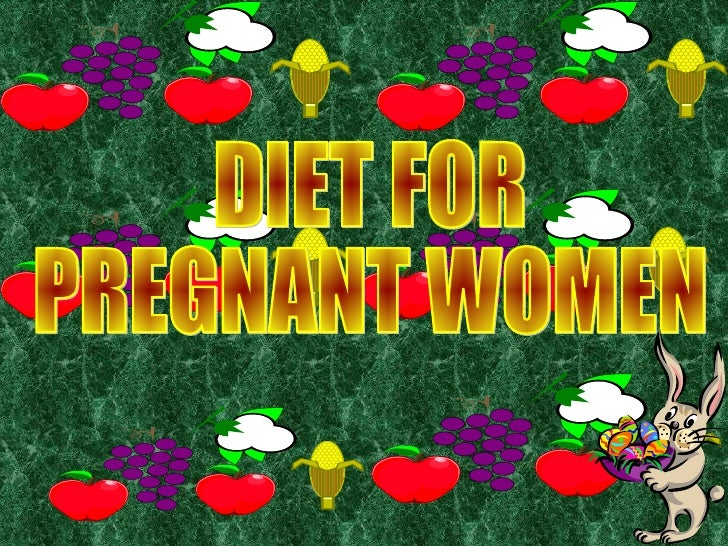Free Pregnancy Nutrition PowerPoint Template
