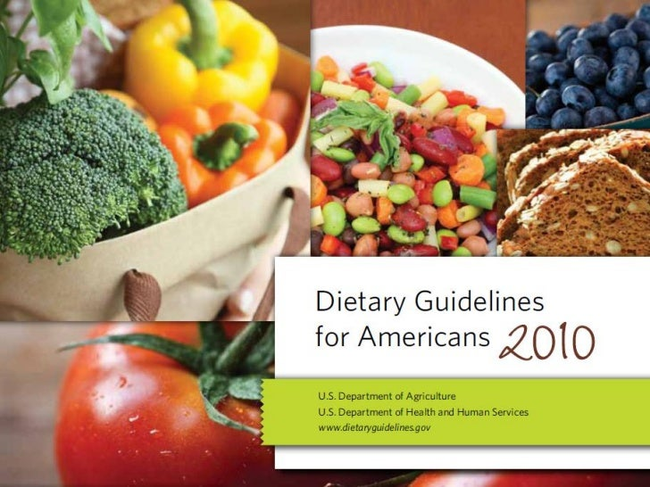 Dietary Guidelines                      into everyday lives• Enjoy your food, but eat less.• Avoid oversized portions.• Ma...