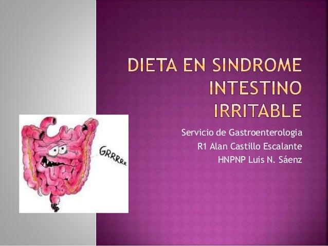 Servicio de Gastroenterologia R1 Alan Castillo Escalante HNPNP Luis N. Sáenz