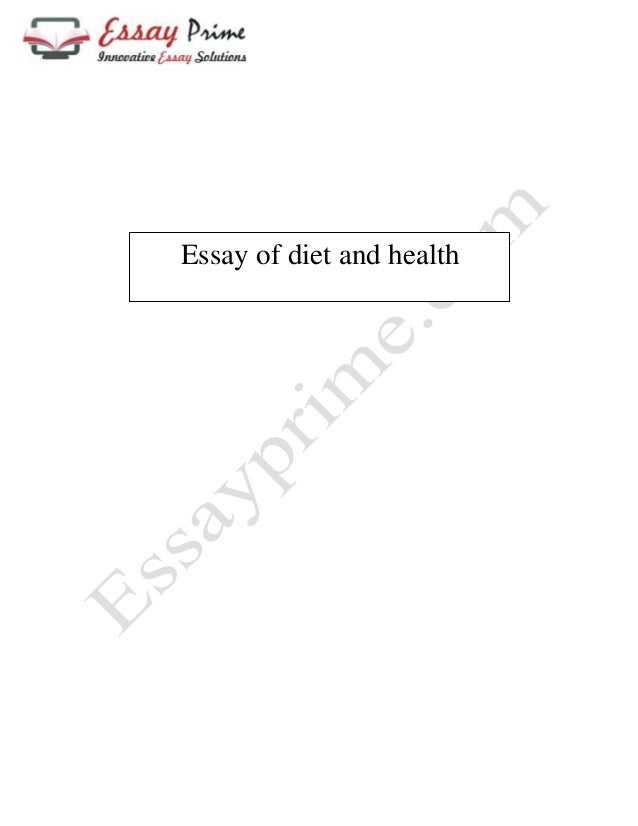 Healthy eating expository essay