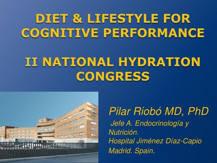 Pilar Riobó MD, PhDJefe A. Endocrinología yNutrición.Hospital Jiménez Díaz-CapioMadrid. Spain.