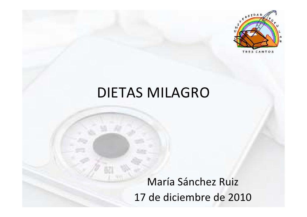 DIETASMILAGRO      MaríaSánchezRuiz    17dediciembrede2010