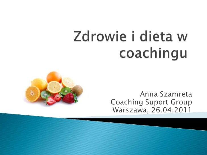 Zdrowie i dieta w coachingu