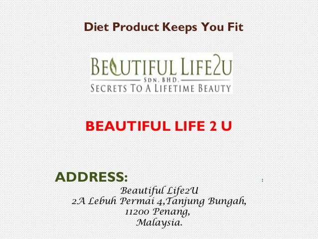 Diet product keeps you fit
