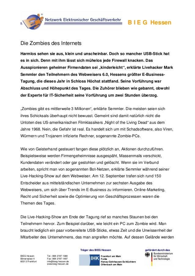 BIEG Hessen Börsenplatz 4 60313 Frankfurt Tel.: 069 2197-1380 Fax: 069 2197-1497 info@bieg-hessen.de www.bieg-hessen.de Tr...