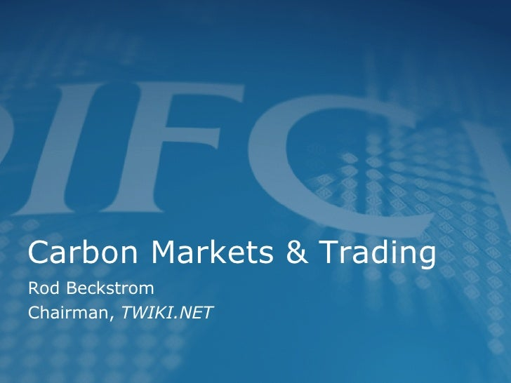 DIFC Week - Carbon Markets and Trading